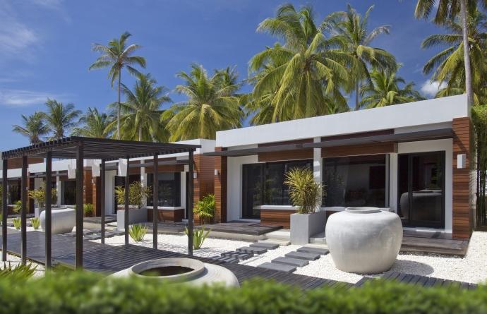 Deluxe bungalow exterior