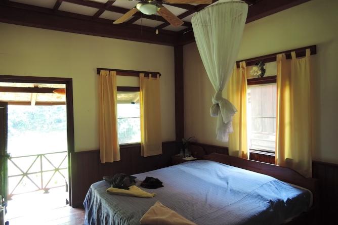 Double bungalow interior