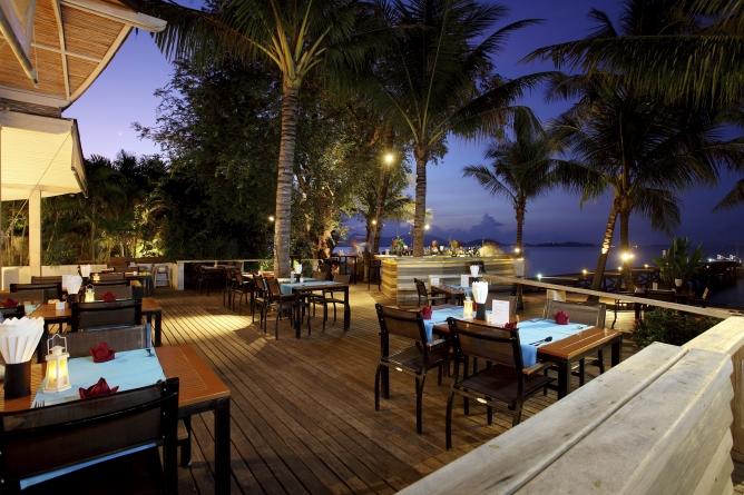 Tamarind restaurant by night