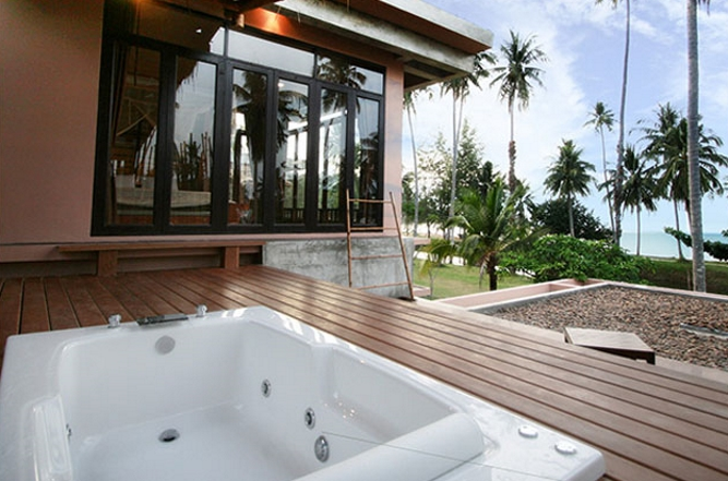 Jacuzzi Balcony Seaview room