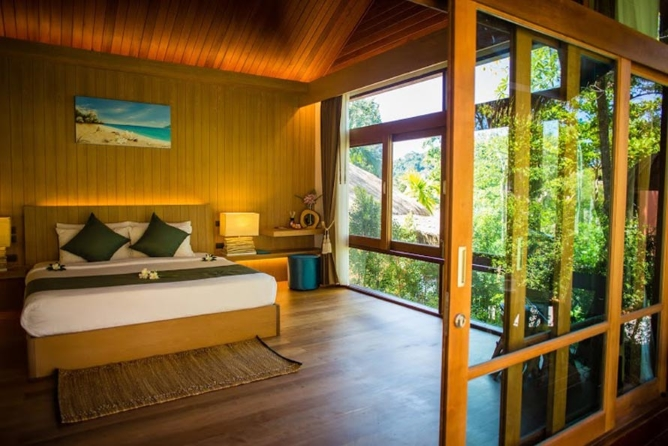 The Sense Villa interior
