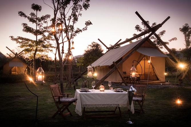 Stylish camping at Lala Mukha
