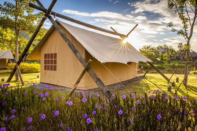 Deluxe Savannah tent