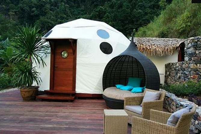 Rather unique new Sky Dome accommodation