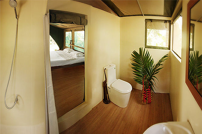 The well planned & fully plumbed bathroom