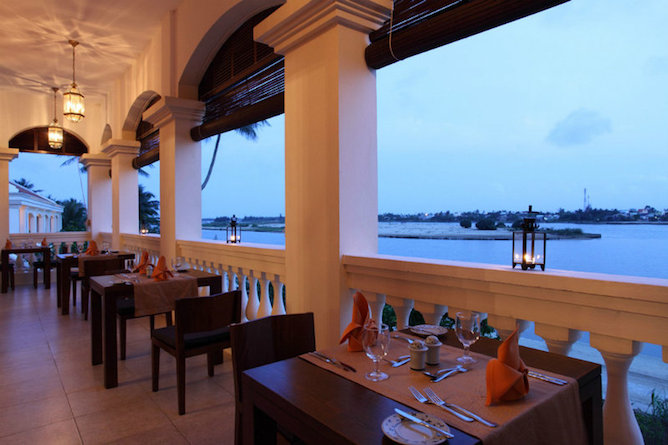 Lanterns restaurant with river views