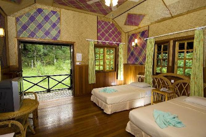 Twin bed chalet