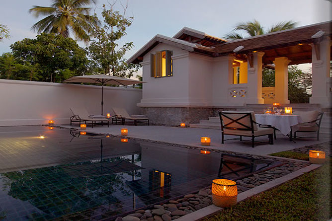 The Amantaka suite private pool