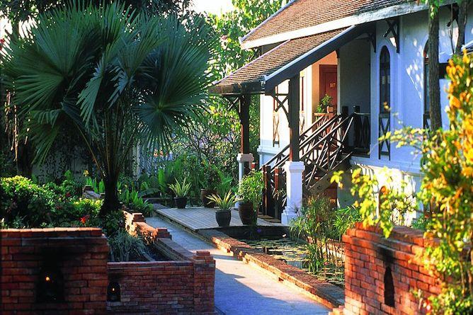 Exterior of a garden suite