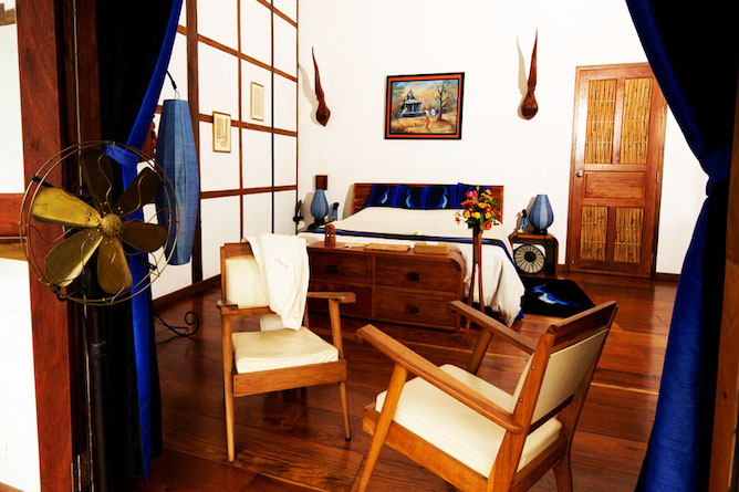 Double bedroom with superior room amenities