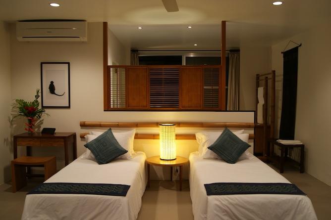 Twin bedded villa