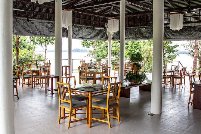 The Riverside Sala restaurant