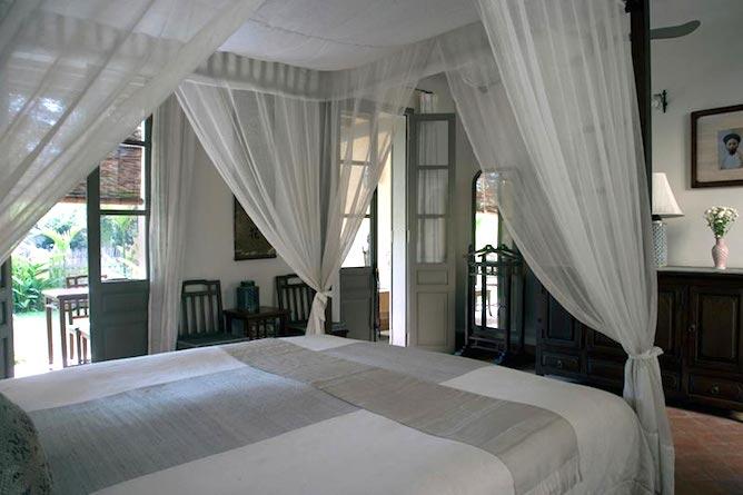 Satri House suite & private balcony