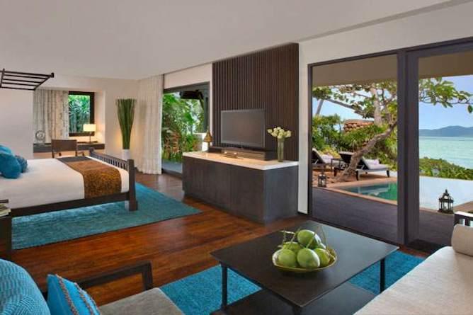 Anantara beachfront pool suite interior