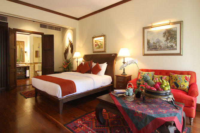 Double bedded Executive suite