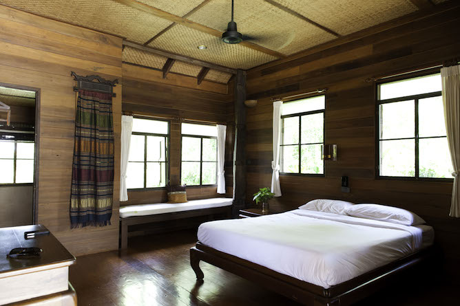 Double bedroom with first class amenities