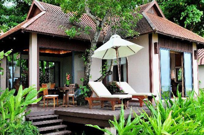 Two bedroom pavilion suite