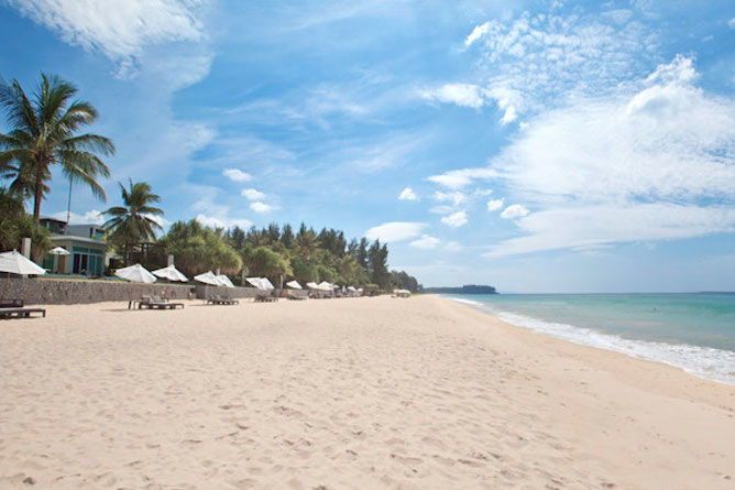 The incredible white sands and turquoise waters of Natai