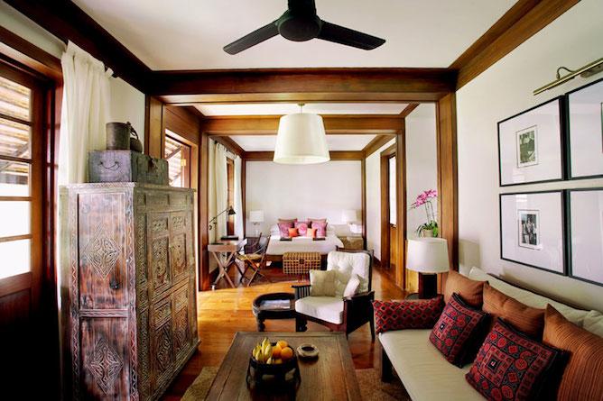 Tamarind suite living area