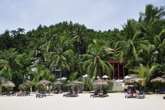 The secluded Surin resort in Phuket