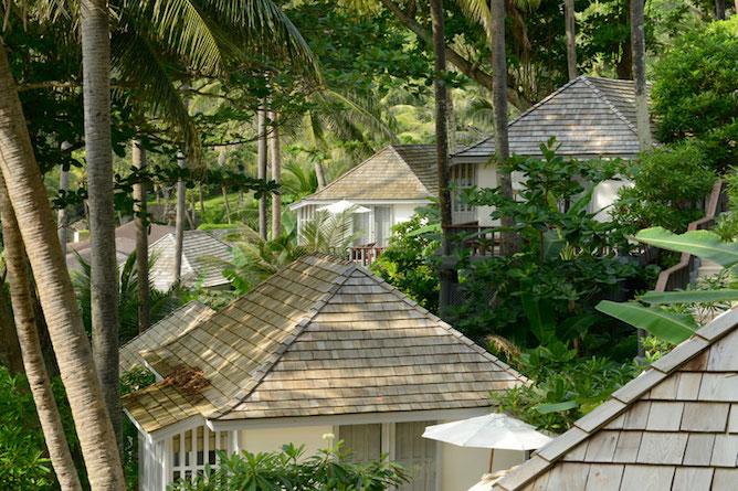 The hillside cottages