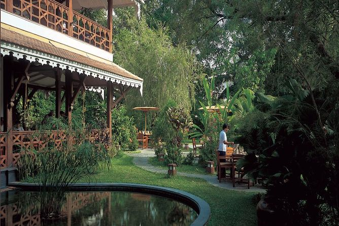 The delightful gardens