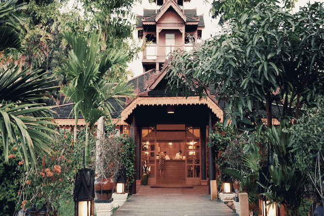 Inle Resort entrance