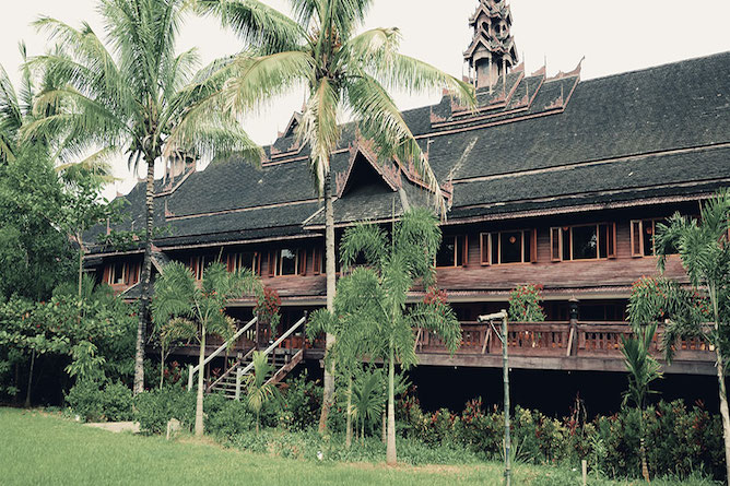 The first class accommodation at Inle Resort