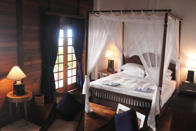 The superior room amenities