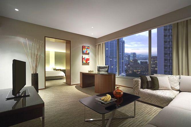 Executive twin towers room