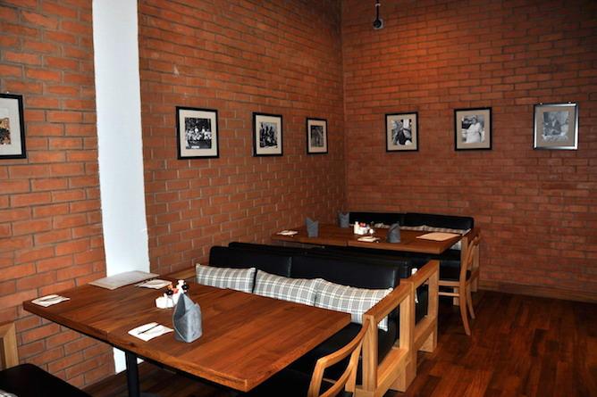Hotel cafe/restaurant