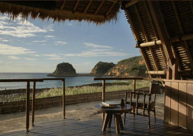 Beruga Pantai terrace