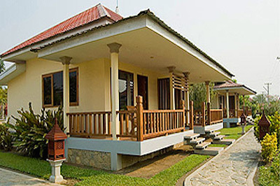 A typical bungalow at the hotel