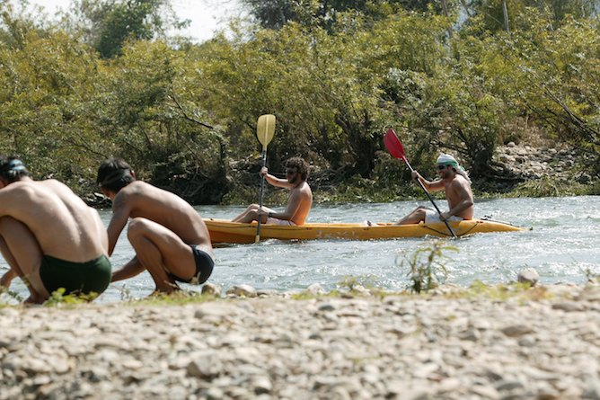 Choose from an array of activities including kayaking