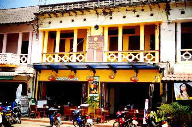 The homely Inthira Thakhek Hotel
