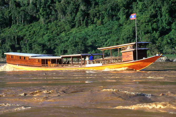 There are now three Luang Say boats that cruise the river