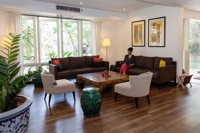 Mandala Boutique Hotel lobby & reception area