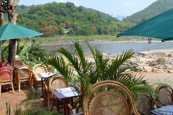 Enjoy breakfast lunch or dinner in a peaceful & tranquil setting