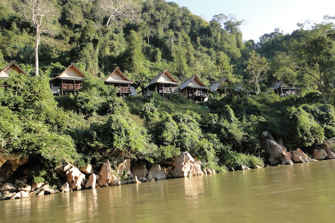 Nong Khiaw Riverside on the banks of the Nam Ou River