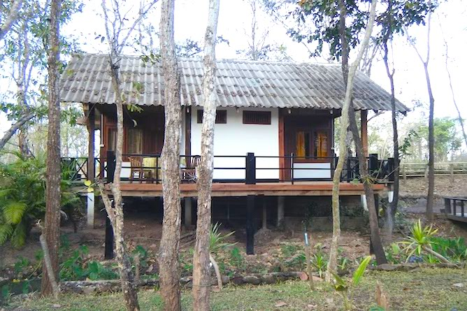 Typical bungalow at the lodge