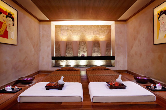 Anantara Spa Thai massage room