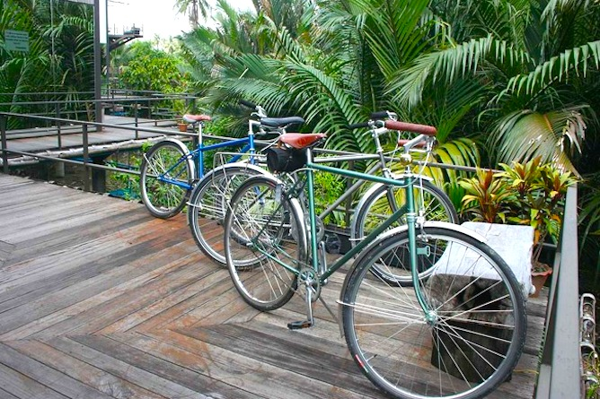 The resort provides complimentary bicycle rental for the duration of your stay