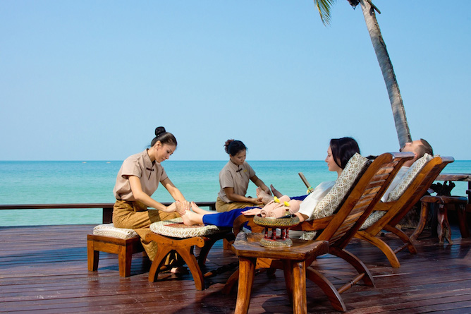 Choose from an assortment of treatments in an idyllic location