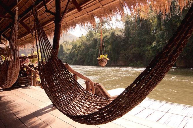 Enjoy a hammock on the verandah