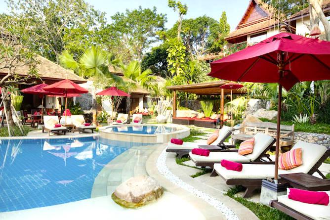The resort is set in beautiful natural surroundings