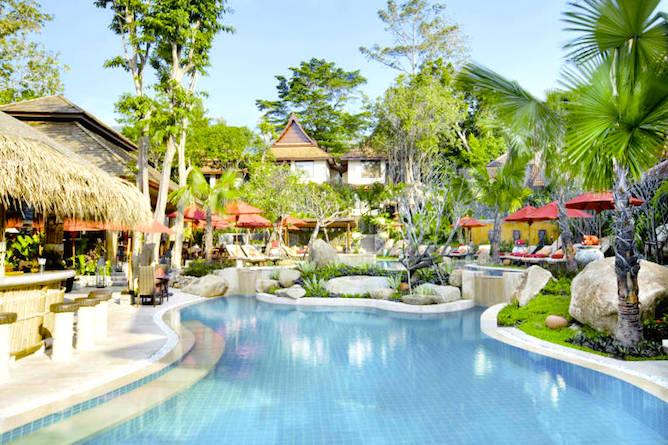 The pool, bar & sun terraces