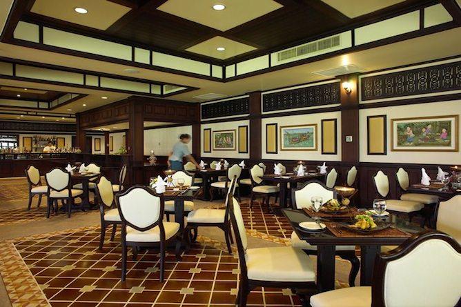The Chulamongkut restaurant