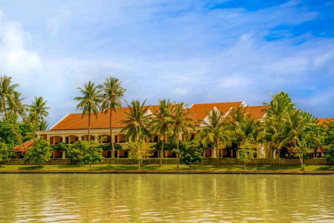 Anantara Hoi An's riverside setting