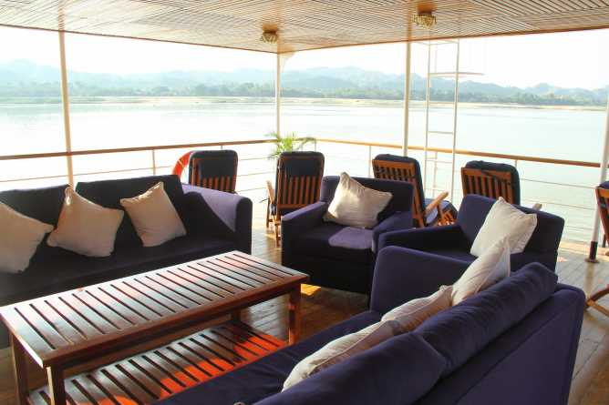 Relax on the upper deck