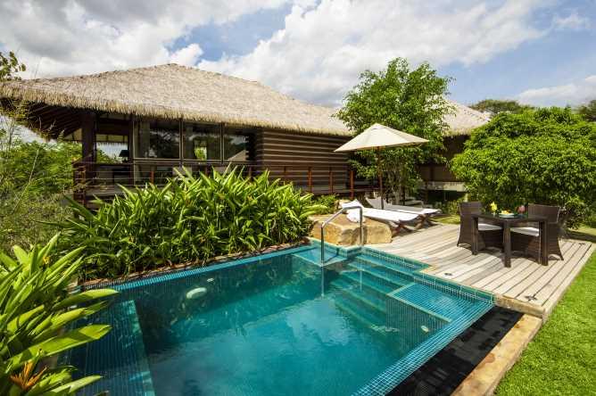 Ulugalla Villa - the private pool